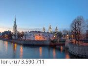 Купить «Санкт-Петербург. Никольский морской собор», эксклюзивное фото № 3590711, снято 25 апреля 2012 г. (c) Литвяк Игорь / Фотобанк Лори