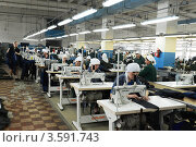 Купить «Швейный цех», эксклюзивное фото № 3591743, снято 24 апреля 2012 г. (c) Free Wind / Фотобанк Лори
