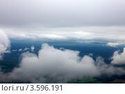 Купить «Вид из самолета на облака», фото № 3596191, снято 31 мая 2012 г. (c) Vitas / Фотобанк Лори