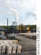 Купить «Асфальтовый завод в Петропавловске-Камчатском», фото № 3596211, снято 17 июня 2012 г. (c) А. А. Пирагис / Фотобанк Лори
