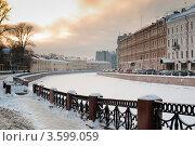 Купить «Санкт-Петербург. Набережная Мойки», фото № 3599059, снято 4 января 2010 г. (c) Зобков Георгий / Фотобанк Лори