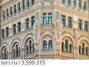Купить «Петербург. Дом Басина», эксклюзивное фото № 3599315, снято 18 июня 2012 г. (c) Александр Алексеев / Фотобанк Лори