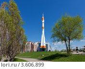 Купить «Самарская ракета», эксклюзивное фото № 3606899, снято 25 апреля 2012 г. (c) FotograFF / Фотобанк Лори