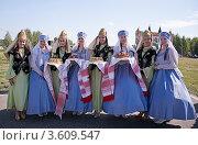 Сабантуй в Зеленодольске (2012 год). Редакционное фото, фотограф Александр Журавлев / Фотобанк Лори