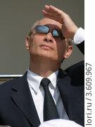Купить «Владимир Путин», фото № 3609967, снято 16 августа 2005 г. (c) Михеев Алексей / Фотобанк Лори