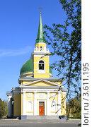 Купить «Город Омск, Свято-Никольский Казачий собор», фото № 3611195, снято 9 мая 2011 г. (c) Виктор Топорков / Фотобанк Лори