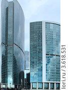 Купить «Москва-Сити», эксклюзивное фото № 3618531, снято 22 июня 2012 г. (c) Татьяна Белова / Фотобанк Лори
