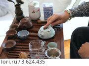 Чайная церемония в восточном стиле. Стоковое фото, фотограф Татьяна Белова / Фотобанк Лори