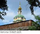 Купить «Колокольня в Новоспасском монастыре. Москва», эксклюзивное фото № 3627223, снято 23 июня 2012 г. (c) lana1501 / Фотобанк Лори