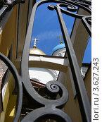 Купить «Новоспасский монастырь (ракурс). Москва», эксклюзивное фото № 3627243, снято 23 июня 2012 г. (c) lana1501 / Фотобанк Лори