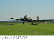 """Самолет DC-3 """"Дакота"""" (2010 год). Редакционное фото, фотограф Василий Фирсов / Фотобанк Лори"""
