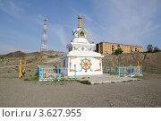 Купить «Субурган. Ак-Довурак, Тува», фото № 3627955, снято 11 июня 2012 г. (c) Виталий Матонин / Фотобанк Лори