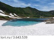 Голубые озера на Камчатке. Стоковое фото, фотограф А. А. Пирагис / Фотобанк Лори
