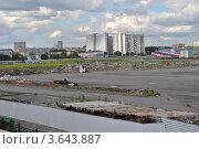 Купить «Вид на развалины бывшего Черкизовского рынка. Измайлово. Москва», эксклюзивное фото № 3643887, снято 27 июня 2012 г. (c) lana1501 / Фотобанк Лори