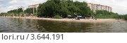 """Пляж """"Намыв"""" в  г.Николаеве.Панорама отдыха. Стоковое фото, фотограф Стрельченко Сергей / Фотобанк Лори"""