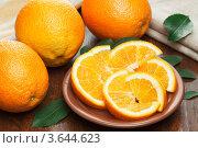 Апельсины. Стоковое фото, фотограф Gerasimova Inga / Фотобанк Лори