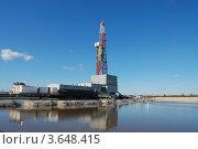 Купить «Буровая установка в Западной сибири», фото № 3648415, снято 17 мая 2012 г. (c) Булат Каримов / Фотобанк Лори