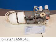 Купить «Второй международный форум Технологии в машиностроении 2012. Мощный импульсный многолучевой клистрон», фото № 3650543, снято 29 июня 2012 г. (c) Игорь Долгов / Фотобанк Лори