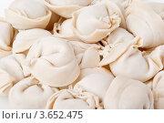 Замороженные пельмени. Стоковое фото, фотограф Алексей Омельянович / Фотобанк Лори