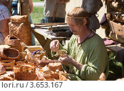 """Фестиваль """"Вехи и эпохи"""" в Коломенском (2012 год). Редакционное фото, фотограф ФЕДЛОГ / Фотобанк Лори"""