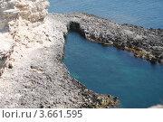Купить «Красивый вид с горы на черное море, мыса Тарханкута», фото № 3661595, снято 1 мая 2012 г. (c) Робул Дмитрий / Фотобанк Лори