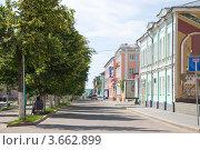 Купить «Ливны, улица Ленина», фото № 3662899, снято 23 июня 2012 г. (c) Юрий Жеребцов / Фотобанк Лори