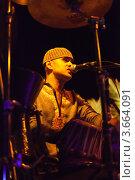 Купить «Рауль Сенгупта. Ударные. Концерт Прем Джошуа в январе 2012. Гоа. Индия», фото № 3664091, снято 19 января 2012 г. (c) Victoria Demidova / Фотобанк Лори