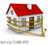 Купить «Дом окован золотой цепью», иллюстрация № 3665475 (c) Кирилл Черезов / Фотобанк Лори