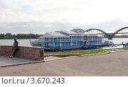 Рыбинск. Речной вокзал (2011 год). Редакционное фото, фотограф Алексей Шипов / Фотобанк Лори