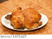 Жареная курица. Стоковое фото, фотограф Александр Бурштын / Фотобанк Лори