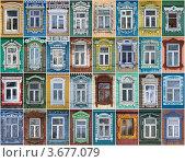 Купить «Окна Суздаля», фото № 3677079, снято 12 ноября 2018 г. (c) Павел Широков / Фотобанк Лори