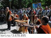 Традиционный армянский праздник в честь поэта Саят-Нова, Ереван (2011 год). Редакционное фото, фотограф Евгений Суворов / Фотобанк Лори