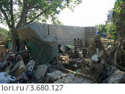 Город Крымск спустя неделю после наводнения (2012 год). Стоковое фото, фотограф Василий Пешненко / Фотобанк Лори