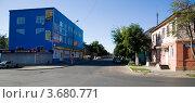 Улица Коммунаров, Богородицк (2012 год). Редакционное фото, фотограф Вячеслав Потапов / Фотобанк Лори