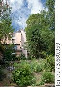 Купить «Ландшафтный дизайн сквера на холме Круа-Русс, Лион, Франция», фото № 3680959, снято 13 июля 2012 г. (c) Виктория Фрадкина / Фотобанк Лори