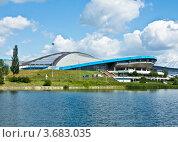 Москва, велотрек в Крылатском (2012 год). Стоковое фото, фотограф ИВА Афонская / Фотобанк Лори