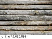Бревенчатая стена, фон. Стоковое фото, фотограф Андрей Артемьев / Фотобанк Лори