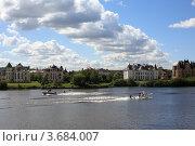Купить «Отдых на Москве-реке», эксклюзивное фото № 3684007, снято 30 июня 2012 г. (c) Игорь Веснинов / Фотобанк Лори