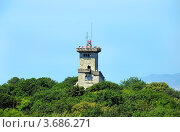 Купить «Популярная достопримечательность Сочи, башня на горе Ахун. Вид сверху.», фото № 3686271, снято 21 июля 2012 г. (c) Анна Мартынова / Фотобанк Лори