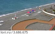 Купить «Вид на морской курорт», видеоролик № 3686675, снято 2 апреля 2010 г. (c) Losevsky Pavel / Фотобанк Лори