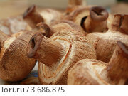Купить «Грибы, приготовленные на мангале», фото № 3686875, снято 1 мая 2009 г. (c) Александр Скопинцев / Фотобанк Лори