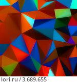 Купить «Абстрактный геометрический фон», иллюстрация № 3689655 (c) Владимир / Фотобанк Лори