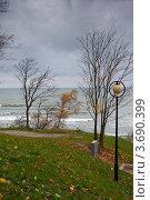 Купить «Балтийское море, осень», фото № 3690399, снято 4 ноября 2010 г. (c) Юлия Белоусова / Фотобанк Лори