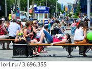 Купить «Жара в городе», эксклюзивное фото № 3696355, снято 20 мая 2012 г. (c) Анна Мартынова / Фотобанк Лори