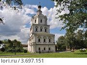 Купить «Церковь Михаила Архангела в Спасо-Андрониковом монастыре. Москва», эксклюзивное фото № 3697151, снято 23 июля 2012 г. (c) lana1501 / Фотобанк Лори