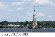 Калязин. Вид на Никольскую колокольню. N4 (2012 год). Стоковое фото, фотограф Алексей Шипов / Фотобанк Лори