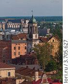 Купить «Выборг: Часовая башня (бывшая колокольня кафедрального собора)», фото № 3705627, снято 11 июля 2009 г. (c) Скворцов Андрей / Фотобанк Лори