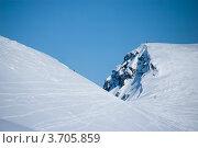 Купить «Горные склоны Хибин», фото № 3705859, снято 31 марта 2012 г. (c) Morgenstjerne / Фотобанк Лори