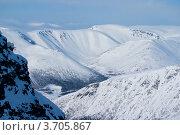 Купить «Зимние Хибины», фото № 3705867, снято 31 марта 2012 г. (c) Morgenstjerne / Фотобанк Лори