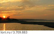 Купить «Закат на море», видеоролик № 3709883, снято 14 сентября 2010 г. (c) Losevsky Pavel / Фотобанк Лори